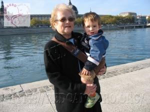 Gabriel y su abuela