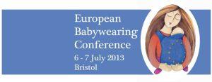 European Babywearing Conference 2013